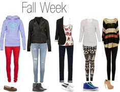 """""""Fall Week"""" by sarahzimmerling ❤ liked on Polyvore"""