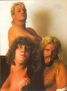Michael Hayes, Terry Gordy, and Buddy Roberts (The Fabulous Freebirds)