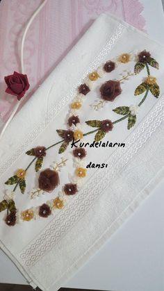 İğne oyası el emeği ürünlere o Hand Embroidery Stitches, Ribbon Embroidery, Hand Stitching, Embroidery Designs, Nursery Crafts, Polish Folk Art, Fashion Vocabulary, Crochet Waffle Stitch, Ribbon Work