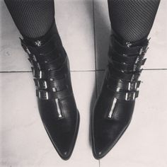 Goth Boots, Gothic Shoes, Monochrome, Combat Boots, Shoe Boots, Oxford Shoes, Dress Shoes, My Style, Closet