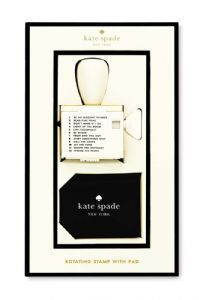 Kate Spade - Rotating sayings Stamp - Available October 10th