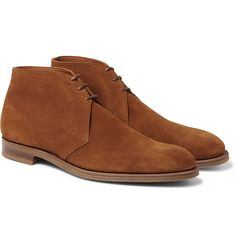 Taking their name from a playing period in polo, chukka boots are defined by their ankle cuffs and two or three-eyelet construction. This pair by British brand <a href='http://www.mrporter.com/mens/Designers/Edward_Green'>Edward Green</a> has been handcrafted from supple suede in Northampton - renowned as the home of English shoemaking. A Goodyear®-welted construction ensures durability, while the rich tobacco shade means they'll work well alongside your favourite pair of blue jeans.