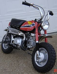 The very first bike that I learned to ride...  The Honda z50