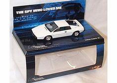 Minichamps  the spy who loved me white lotus esprit car S1 1.43 scale diecast model minichamps the spy who loved me white lotus esprit S1 car diecast model brand new displayed in a mint clear case with cardboard sleve and is in mint condition this model (Barcode EAN = 5000332009905) http://www.comparestoreprices.co.uk/cars-and-other-vehicles/minichamps-the-spy-who-loved-me-white-lotus-esprit-car-s1-1-43-scale-diecast-model.asp