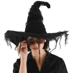I think this might be my witches hat :) [BuyCosutmes.com Grudge Adult Witch Hat 12.99]