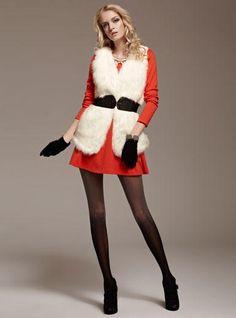 YESSTYLE: Moonbasa- Faux Fur Vest - so soft - $55