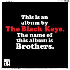top 10 favorite album covers of all time. the-black-keys-album-cover
