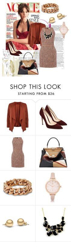 """This is my Autumn"" by nan-murray ❤ liked on Polyvore featuring dVb Victoria Beckham, Fendi, STELLA McCARTNEY, River Island and Emi Jewellery"