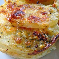 Parmesan Potato au Gratin