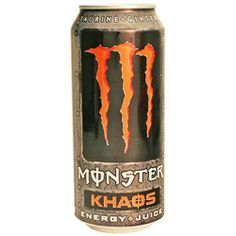 Monster Energy Drink, Khaos, 16-Ounce Cans (Pack « Blast Grocery