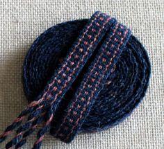 Inkle Weaving Medieval Trim Inkle Woven Hand Woven by inkleing