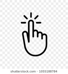 Click finger hand press or push vector icon Youtube Logo Png, Youtube Banners, Youtube Editing, Video Editing Apps, Subscribe Logo Png, Water Drop Vector, Smile Icon, Hands Icon, Halftone Pattern