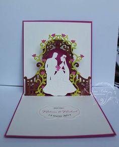 carte mariage pop-up