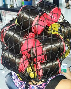 Big Hair Rollers, Wet Set, Roller Set, Curlers, Vintage Glamour, Perm, Long Hair Styles, Beauty, Rollers In Hair