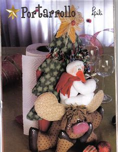 Album Archive - Muñequeria Country No. Christmas Stockings, Christmas Wreaths, Christmas Crafts, Christmas Decorations, Christmas Ornaments, Holiday Decor, Christmas Ideas, Stuffed Animal Patterns, Diy Stuffed Animals