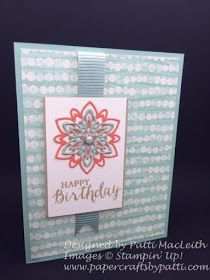 Papercrafts by Patti: Happy Birthday By The Shore