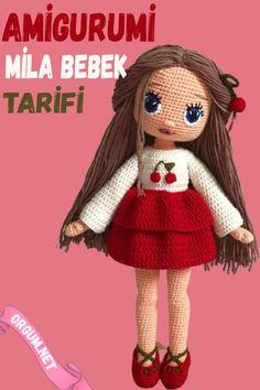 Easy Stitch, Baby Knitting Patterns, Amigurumi Doll, Crochet Animals, Diy And Crafts, Milan, Dolls, Christmas Ornaments, Disney Princess