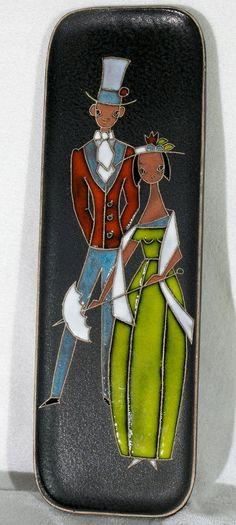 Keramik Wandplatte / Wandbild Nr.; 756; Ruscha oder Kiechle ?