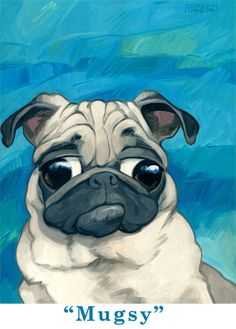 Georg Williams - Gallery Rinard - Dog - Mugsy
