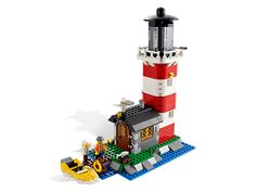 Keep the harbor safe with the 3-in-1 lighthouse!  Lighthouse Island     Item: 5770     Ages:8-12     Pieces:518