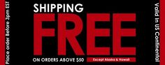 Get free shipping over $50. Visit this link and buy the latest style and design of jewelry. http://tinyurl.com/kkbvff4