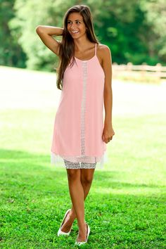 Romancing The Afternoon Dress-Rose - $44.00