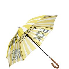 BURBERRY PRORSUM Summer Meadows-print umbrella (6.844.955 IDR) ❤ liked on Polyvore featuring accessories, umbrellas, umbrella, summer umbrella, print umbrella, burberry, yellow umbrella and burberry umbrella