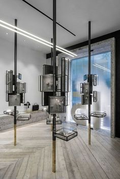 Jewerly Store Interior Design Glass Boxes Ideas For 2019 Design Shop, Shop Interior Design, Retail Design, Color Interior, Exterior Design, Design Design, Store Concept, Jewelry Store Design, Jewelry Designer