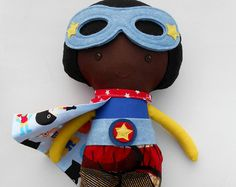 RAG DOLLS, twin dolls, superheroes, doll pair, dolls, fabric dolls, handmade doll, boy doll, genderneutral toys, toys, soft dolls, softtoy,  These