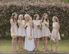 Popular Color Choices for Bridesmaids in 2014–Part II   http://www.vponsalewedding.co.uk/popular-color-choices-for-bridesmaids-in-2014-part-ii/