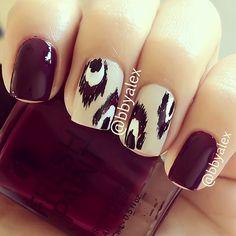 Classy nail pattern