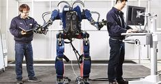 Hyundai's wearable robot isn't as pretty as Stark's suit, but it's still the future.