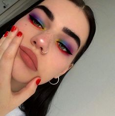 Spring Makeup Looks You Need To Try In Spring Makeup; Makeup Looks; Spring Makeup Looks You Need To Try In Spring Makeup; Makeup Looks; Spring Makeup Looks; Makeup Goals, Makeup Inspo, Makeup Art, Makeup Inspiration, Hair Makeup, Makeup Ideas, Makeup Drawing, Eyelashes Makeup, Makeup Hairstyle