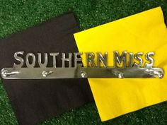 Southern Miss Wall Hanger by Tailgategoodsdotcom on Etsy, $15.00 College Store, Go Eagles, Fan Store, Great Christmas Gifts, Wall Hanger, Gifts For Him, Best Gifts, Southern, Gift Ideas