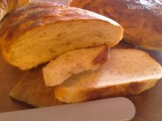 Ciabatta - taliansky chlieb (fotorecept) Sweet Potato, Bread, Vegetables, Ciabatta, Food, Basket, Meal, Essen, Vegetable Recipes