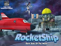 RocketShip Dark Side Of The Moon - Launched Today 27th March 2016
