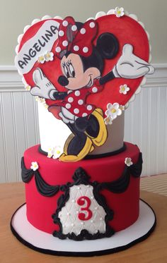 Minnie Cake for Icing Smiles