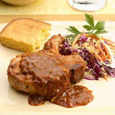 Oven-Barbecued Pork Chops