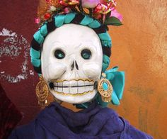 A young and smiling calavera, loved this resource for all things Day of the Dead in Mexico.