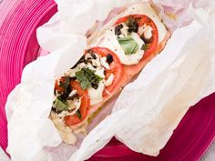 Papillote de saumon à la mozzarella : Recette de Papillote de saumon à la mozzarella - Marmiton
