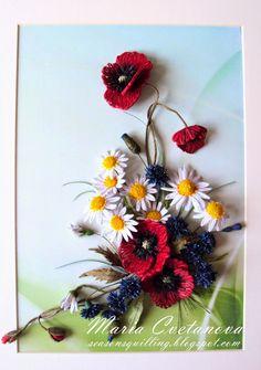 Quilling Seasons: poppy (poppy)