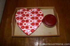 14 Valentine's Inspired Montessori Activities