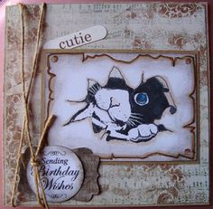 Send A Smile 4 Kids Challenge Blog: TEAM S.A.S. Card by Hilde