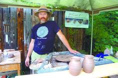 From a well-known English potting family, Simon Leach starts career, studio in Williamsburg - by Beth Ann Downey, The Altoona Mirror