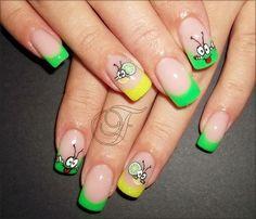 litlle one :) by JelenaF - Nail Art Gallery nailartgallery.nailsmag.com by Nails Magazine www.nailsmag.com #nailart
