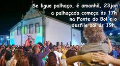 Blog do Rio Vermelho, a voz do bairro: Se ligue Palhaço, é amanhã !