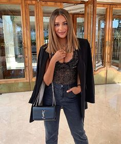 Angelina lilienne last night outfit tezenis girls happy fashion italy verona anzeige ideas party outfit night baddie party Medium Hair Cuts, Medium Hair Styles, Short Hair Styles, Light Brown Hair, Brunette Hair, Blonde Hair, Mode Inspiration, Fall Hair, Balayage Hair