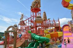 Things To Do In Wisconsin Dells With Kids: Mount Olympus Waterslides