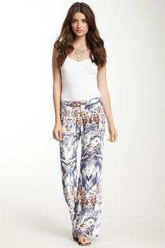 Full Leg Silk Pants//
