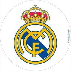 Oblea para tarta del Real Madrid